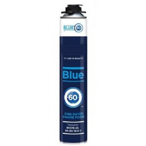 1 Hour Fire Rated Spray Foam, Blue60 Expanding Foam Filler & Sealant System